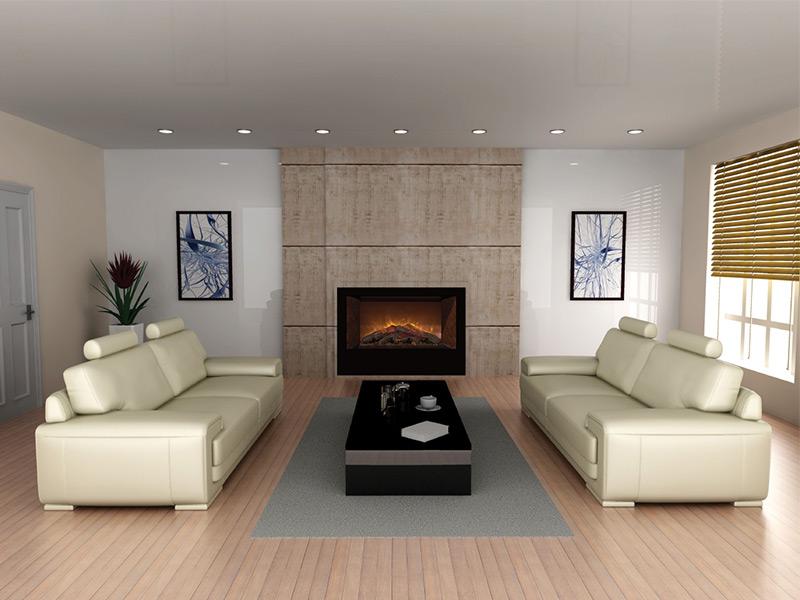 Home fire 42 modern flames for Modern house 42