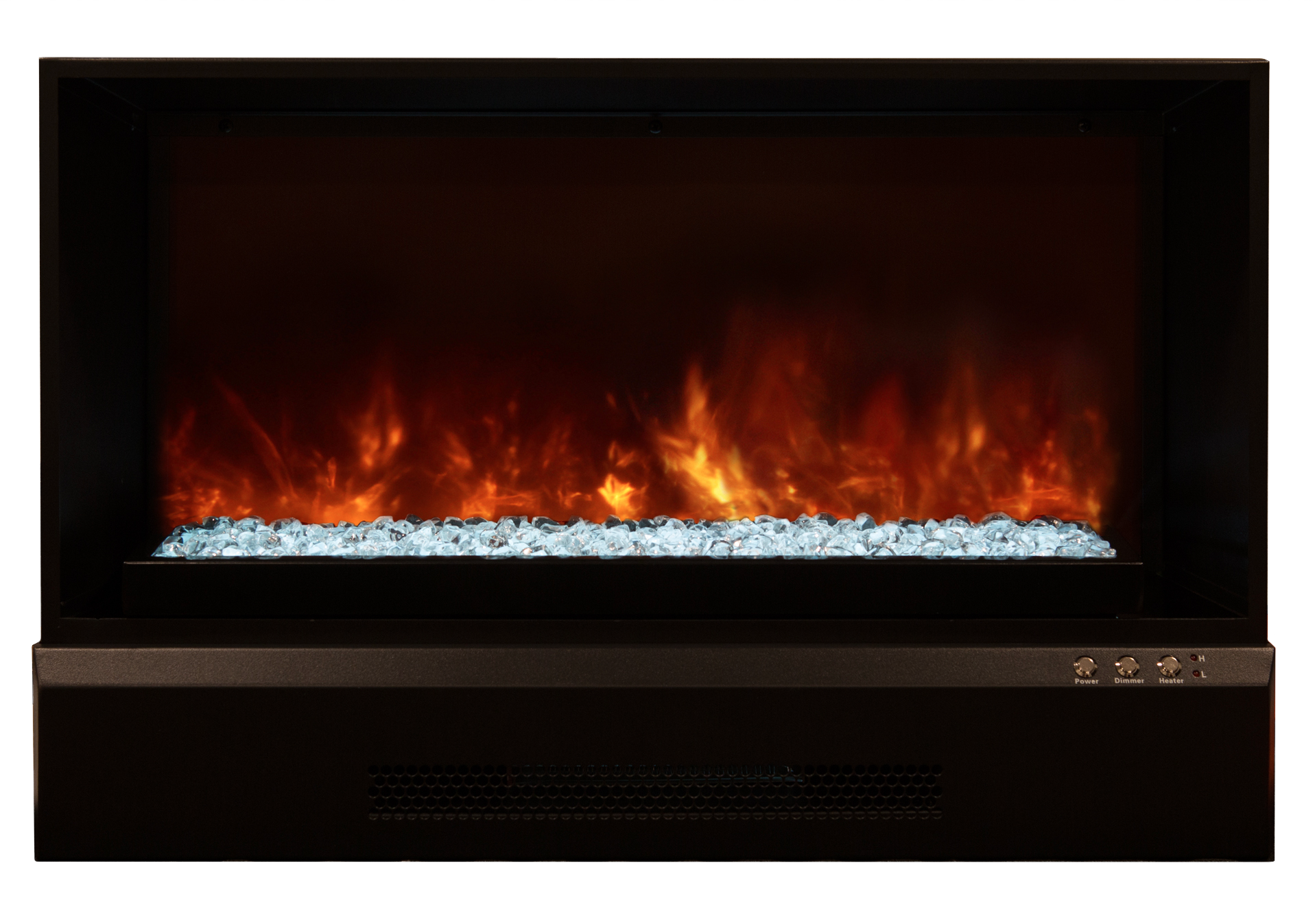 Watch It Burn Modern Electric Fireplaces Modern Flames
